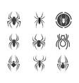 spider icon design design vector image