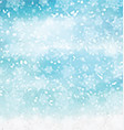 watercolor christmas snowflakes 2410 vector image vector image