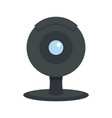 web camera icon flat style vector image