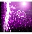 Abstract Background With A Heart vector image