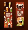 beer in beerhouse brewery beermug vector image vector image