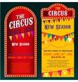 Circus Banners 02 B vector image