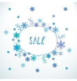 Cute doodle sale banner vector image vector image