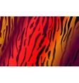 Imitation of tiger leather as a background vector image vector image