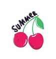Popular summer berry vector image