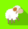 ram smell icon flat style vector image