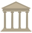 RomanGreek Temple vector image vector image