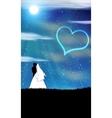 Weddings In The Moon vector image