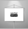 blank roll up vector image