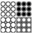Arabic seamless pattern set - Islamic design vector image