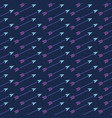 fancy pattern with arrows vector image
