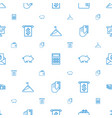 financial icons pattern seamless white background vector image vector image