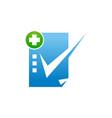 health check mark vector image