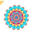 Mandala vintage decorative elements hand drawn