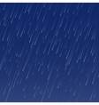 raining autumn weather seamless pattern vector image vector image