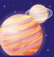 solar system design vector image