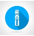 Water cooling machine blue round icon vector image vector image