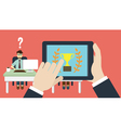 Business human resource vector image