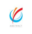 application - business logo concept vector image vector image