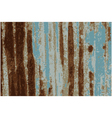Background Rusty Galvanized iron plate vector image