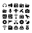 Communication Icons 4 vector image vector image