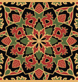 dark pattern of mandalas vector image vector image