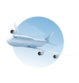 plane in air vector image