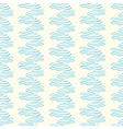 Seamless pattern with abstract doodle wavy vector image vector image