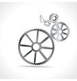 Metal Cogs vector image