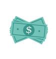 dollar money cash icon cash register money vector image vector image