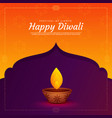 ethnic religious diwali festival background with