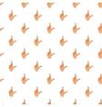 Gesture idea pattern cartoon style vector image vector image
