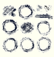 Set of handcrafted textures vector image vector image