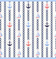 vertical stripes nautical repeat pattern vector image