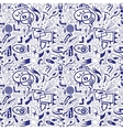 speech bubbles and arrows - seamless pattern vector image