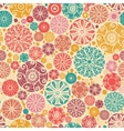 Abstract decorative circles seamless pattern vector image