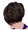 bob haircut vector image