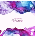 Bright watercolor background vector image vector image