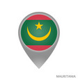 mauritania point vector image