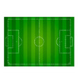 realistic textured grass football field soccer vector image vector image