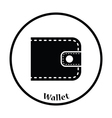 Wallet icon vector image vector image