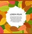 autumnleaves-40 vector image vector image