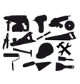 BUILDING tools vector image vector image