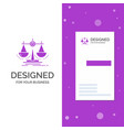business logo for balance decision justice law vector image