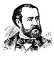 charles f gounod vintage vector image vector image