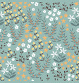 floral seamless pattern with abstract flat vector image