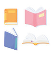 international literacy day textbooks literature vector image vector image