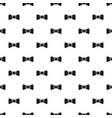 old bow tie pattern seamless vector image