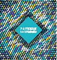 retro pattern background 2010 vector image vector image