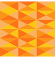 seamless repeating background of triangles vector image vector image